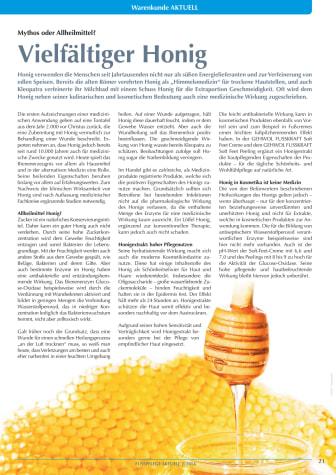 Vielfältiger Honig: Mythos oder Allheilmittel?