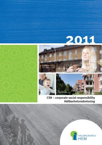 Helsingborgshem CSR-rapport 2011