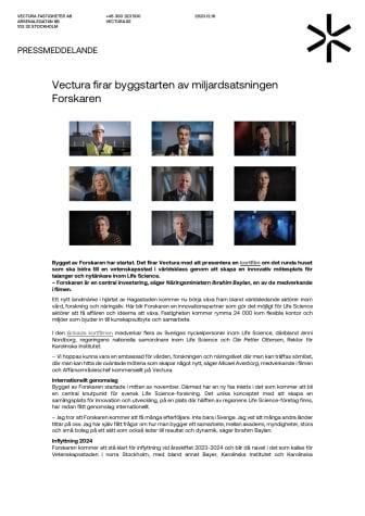Vectura firar byggstarten av miljardsatsningen Forskaren.pdf