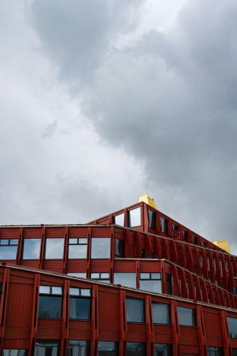 Kunskapshuset, fasad, Liljewall