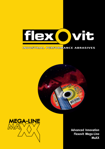 Esite Flexovit Mega-Line MaXX