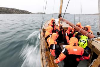På båt i Bohuslän