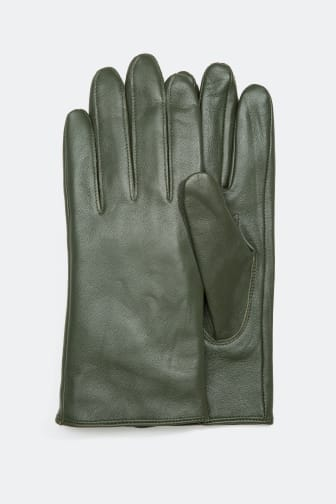Leather Gloves - 27.99 €