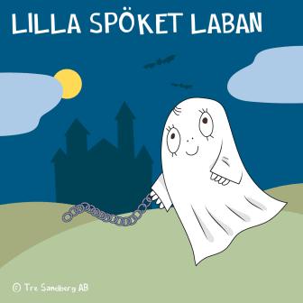 Lilla Spöket Laban - albumomslag