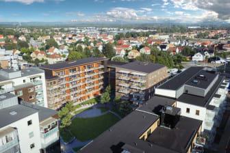 Brf Landgången, Riksbyggen, Halmstad
