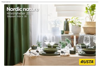 Pressmaterial Nordic nature - Hösten 2021