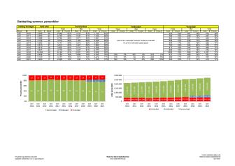 Dæktælling juni 2021 - Statistik