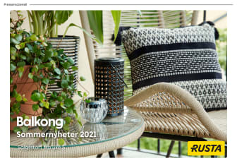 Pressemateriell Balkong - Sommer 2021