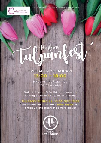Inbjudan till tulpanfest