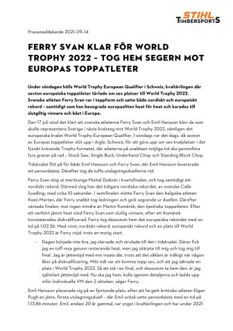 FERRY SVAN KLAR FÖR WORLD TROPHY 2022 – TOG HEM SEGERN MOT EUROPAS TOPPATLETER.pdf