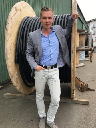Rickard Norin, affärsutvecklare, Öresundskraft