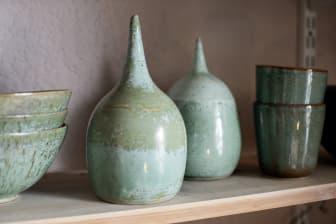 Keramikföremål från Idas Keramik