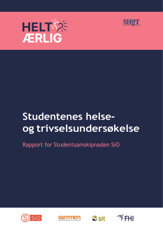 SHoT 2021 tilleggsundersøkelsen - resultater for Oslo