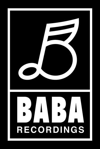 BABA recordings portraitlogo