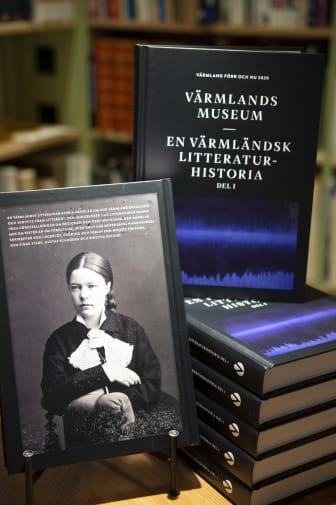 Omslag: En värmländsk litteraturhistoria del 1 – stående