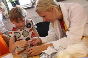 """""""Nalledoktorerna"""" på Barnplantornas familjeläger i Helsingborg sommaren 2013"""