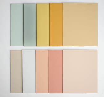 Flexa Binti Home Kleurencollectie palet liggend