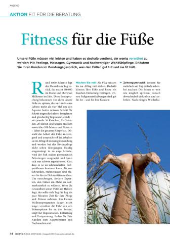 Fitness für die Füße