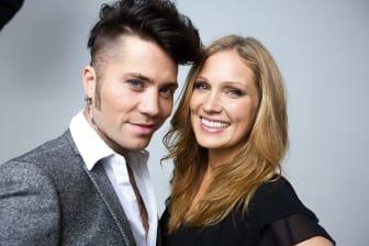 Brolle och Jessica Almenäs