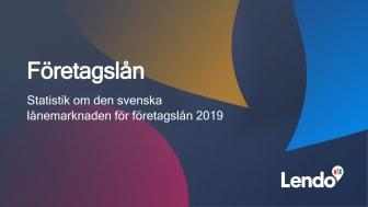 Lendo - rapport statistik för företagare och företagslån 2019
