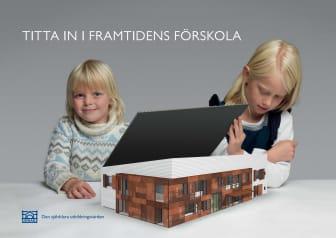 Pressinbjudan: Första spadtag till framtidens förskola i Råcksta