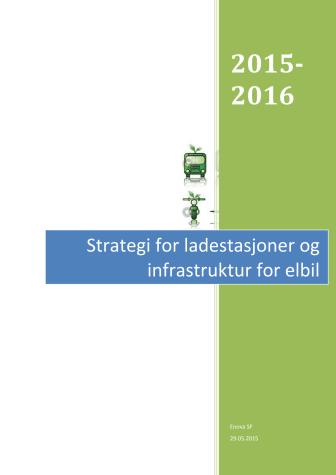 Strategi for ladestasjoner og infrastruktur for elbil