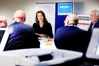 Innovationsidéer för förlagen delas i Growth Accelerator-workshops