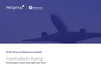 Formation flying: Working together to protect aviation against cyber threats by NCC Group & 3DAssurance
