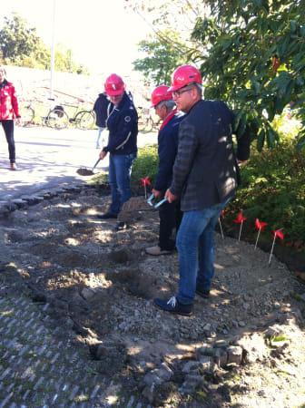 Johan och Johan gräver