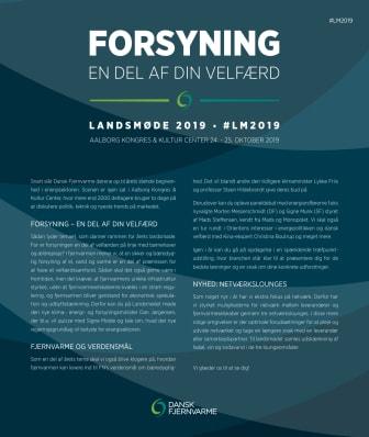 Program Landsmøde 2019