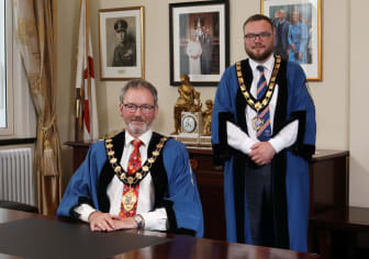 New Mayor and Deputy Mayor for Mid and East Antrim