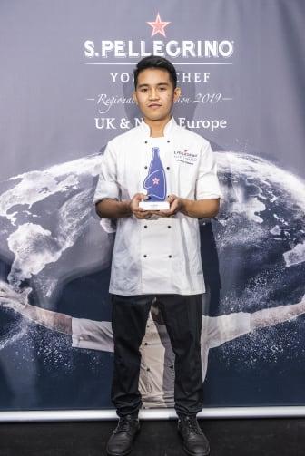 Jerome Calayag, S.Pellegrino Young Chef finalist 2020