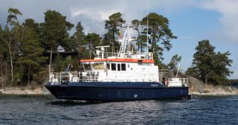 Sjömätningsfartyget Anders Bure.