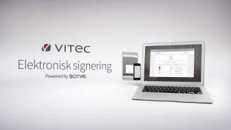 Vitec E-signering