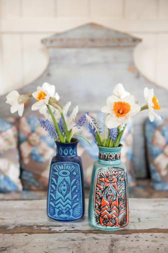 Pingstliljor och pärlhyacinter