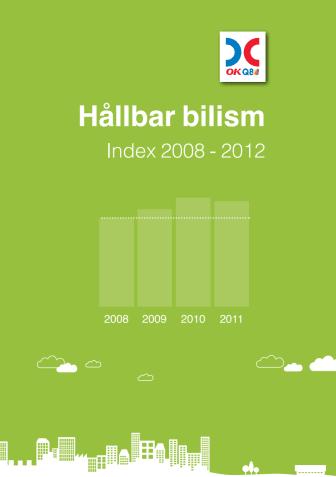 Hållbar bilism index 2008-2012
