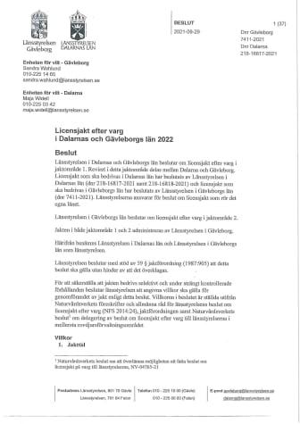 Licensjakt efter varg 2022 dnr 218-16817-2021 (Gävleborg).pdf