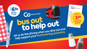 Go North East launches new 'Bus Out to Help Out' offer to help support local evening economy