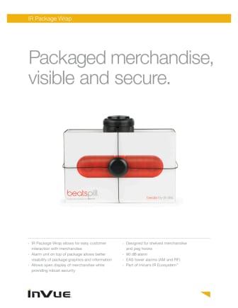 Varularm från Gate Security: InVue IR Package Wrap