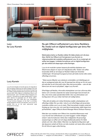 Offecct Press release Lucy ny modul by Lucy Kurrein_SE