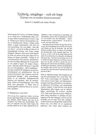 Artikel Tjejhelg, umgänge - och ett lopp