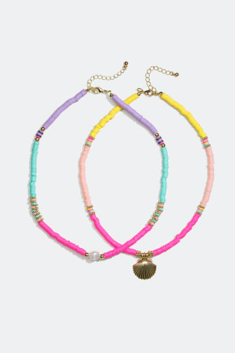 Necklaces sold separately - 13.99 €/necklace
