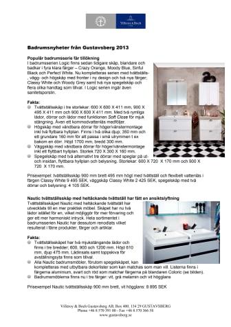 Produktblad Hem & Villa 2013