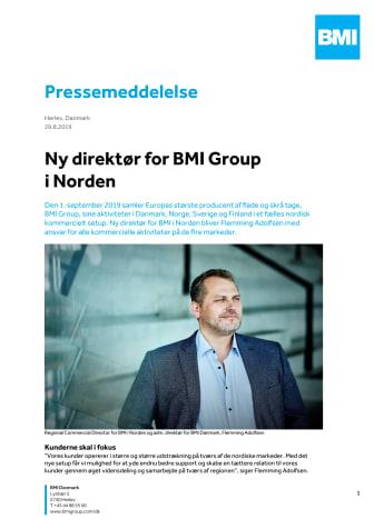Ny direktør for BMI Group i Norden