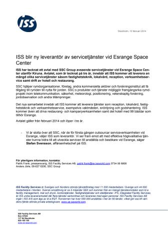 ISS blir ny leverantör av servicetjänster vid Esrange Space Center