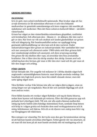 Grisens historia på tallriken - Jens Linder