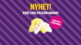 BUBS Cool Passion Ananas Skumskalle - bara hos CandyKing!