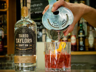 Tareq Taylor Craft Gin Negroni