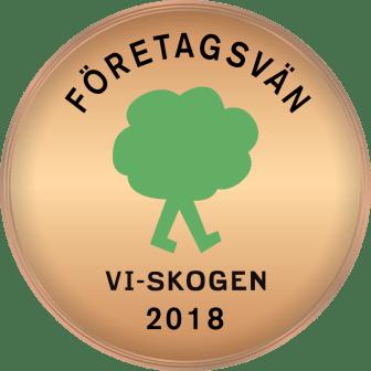 Vi-skogen företagsvän 2018
