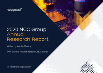 Annual Research Report 2020